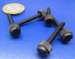29//32 18-8 Stainless Steel Captive Panel Screw with 4-40 Thread Size and Knurled Head Type