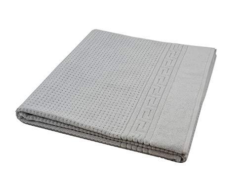 Sensepura, Massageliege Handtuch, XL hellgrau ca. 100x200 cm, Auflage für Therapie- und Kosmetikliegen Gewicht: ca. 1100 g