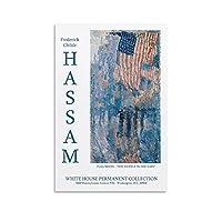 チャイルドハッサム独立記念日 キャンバスアートポスターと壁アート写真プリント現代家族の寝室の装飾ポスター08×12inch(20×30cm)