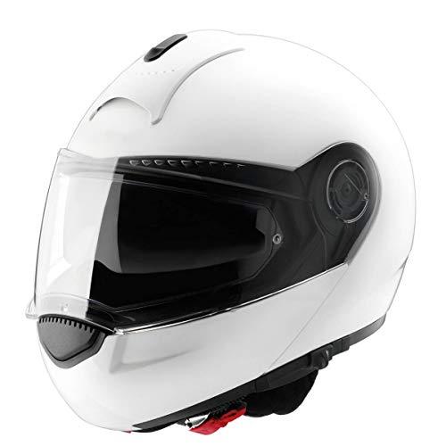 Schuberth C3 Basic weiß Motorradhelm XL 60/61 CM