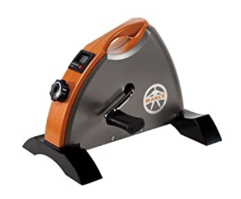 Marcy Cardio Mini Cycle – Portable Cardio Machine with Variable Resistance for Home Gym NS-909