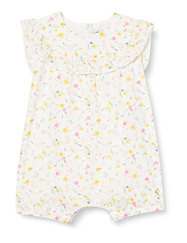 Petit Bateau Mädchen 5531401 Jumpsuit, Mehrfarbig (Marshmallow/Multico Bfq), 3 Jahre