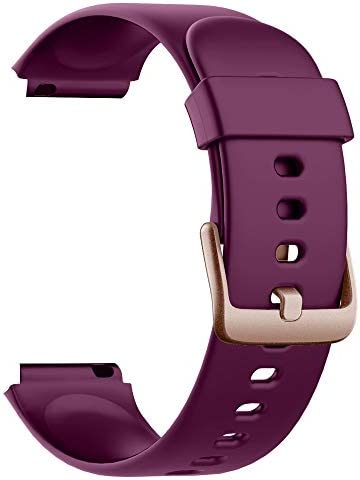 Soft Silicone Smart Watch Bands Replacement Straps Bands for Willful SW021 ID205L Smart Watch product image