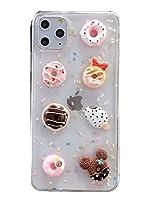 [アット チェルシー]@ CHELSEA 正規品 アイフォンケース スマホケース 新型 iPhone 12 pro Max mini 専用 カバー カメラ型 耐衝撃 ドーナツ スイーツ 立体 かわいい