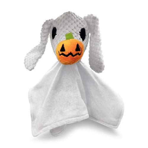 Hyper Pet Disney's The Nightmare Before Christmas Zero Blankie Buddie Plush Dog Toy with Squeaker