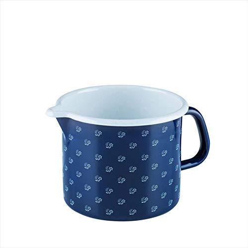 Riess 0041-074 Country-Dirndl Schnabeltopf, Durchmesser 14 cm, blau