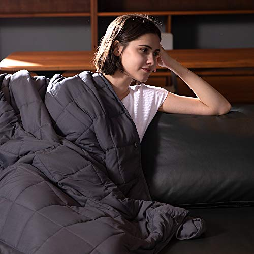 Syrinx Cooling Weighted Blankets 15lbs, 60''x80'',...