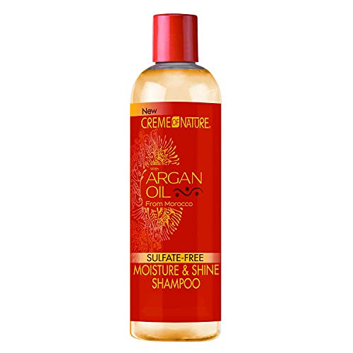 Creme of Nature Moisture & Shine Shampoo With Argan Oil From Morocco, 12 oz by Creme of Nature