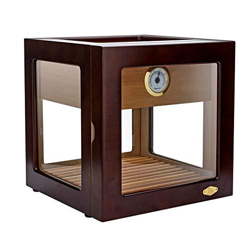 Liefde lamp sigaar Display Box Cubaanse sigaar hydraterende kast Piano verf cederhout Humidor