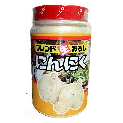 【冷蔵】【15本】フレンド印 生おろしにんにく 1kg テーオー食品