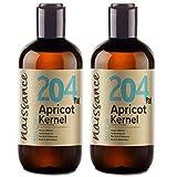 Naissance Aprikosenkernöl 500ml (2x250ml) zertifiziert 100% rein