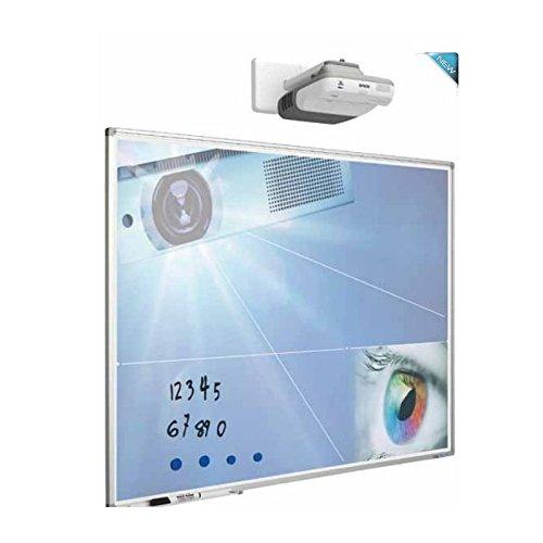 whiteboard-direct-de Beschreibbare Projektionstafel (120x214 cm)