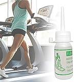 Lubricante de silicona para cinta de correr, aceite de lubricación de cinta de cinta de 30 ml Aceite de mantenimiento de cinta de correr - Aceite de silicona fácil de aplicar para cinta de correr