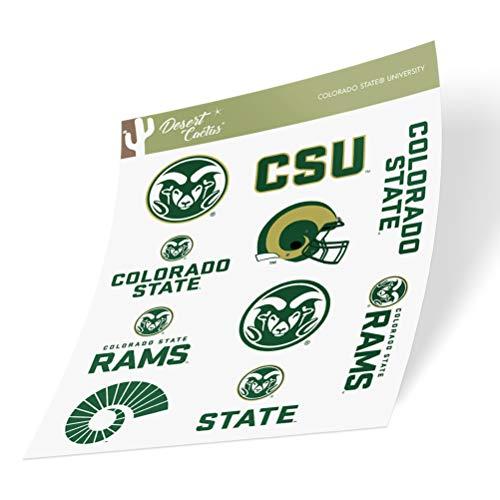 Colorado State University CSU Rams Sticker Vinyl Decal Laptop Water Bottle Car Scrapbook (Type 2)