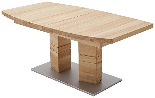 Robas Lund, Tisch, Esszimmertisch, Cuneo B,  Kernbuche/Massivholz, 180 x 100 x 77 cm, CUN18BKB