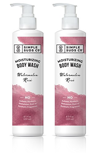Simple Suds Co. Watermelon Rosé Natural Body Wash