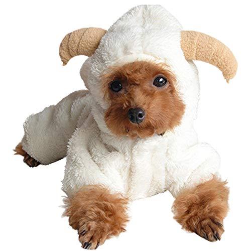 Alfie Pet - Everly Sheep Costume - Size: Medium