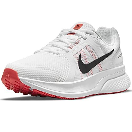 Nike Run Swift 2, Zapatillas para Correr Mujer, Blanco/Negro, 38 EU