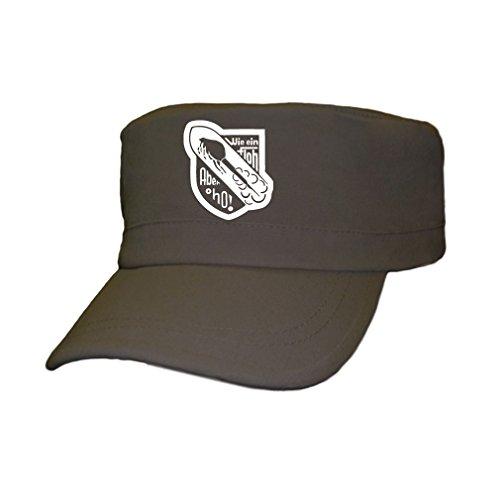 Copytec Wie EIN Floh Aber Oho Deutschland Wk Wh Abzeichen Emblem Luftwaffe Militär - Kappe #4501, Farbe:Oliv