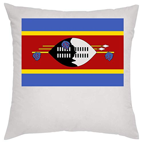 Swaziland National Flagge Eswatini Kissen Pillow