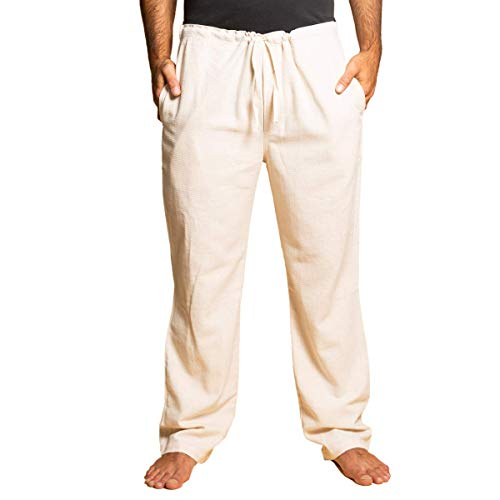 PANASIAM Pants,T01 in Natural-White, XL