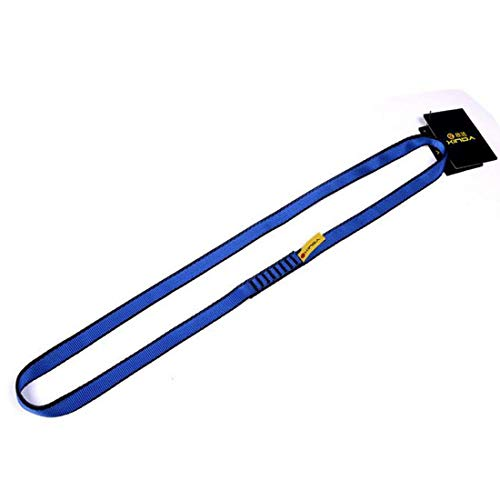 Outdoor Climbing Fast Roped Down Schutzgurt Bandlet XD-D9310 150cm Blau