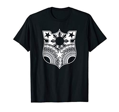 Vintage Tribal Filipino flag shirt - Filipino Heritage T-Shirt