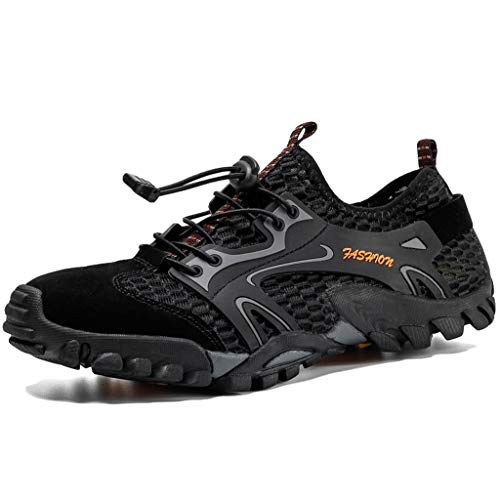AEMUT Herren Fahrradschuhe Mountainbike und Indoor Cycling Schuhe Low Rise Sport Outdoor Schuhe Jungle Herren Wanderschuhe,A-40