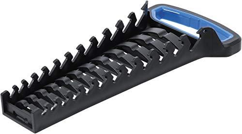 BGS 6781 | Soporte para llaves combinadas / combinadas | 12 cojines | también para montaje en pared