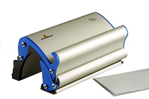 Acebera Pleman5 - Plegadora/dobladora de hojas DIN A4 manual para pequeña empresa fabricada en aluminio y PVC. Hasta 5 hojas a la vez. Ningún consumo