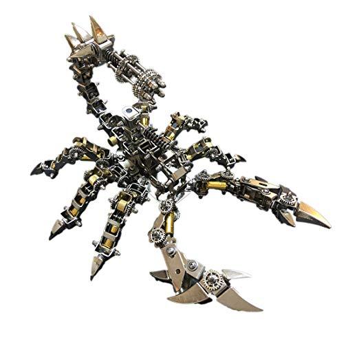 GODNECE 3D Puzzle Metall, Krieg Skorpion Modell 3D Model Kits Metall Modellbausatz Spinne Modell