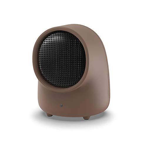 GWHH ventilatorkachel met laag energie-milieuvriendelijke PTC-keramische verwarming met kantel- en oververhittingsbeveiliging. Rustige, constante temperatuur. Perfect voor kantoor-desktops en slaapkamers thuis.