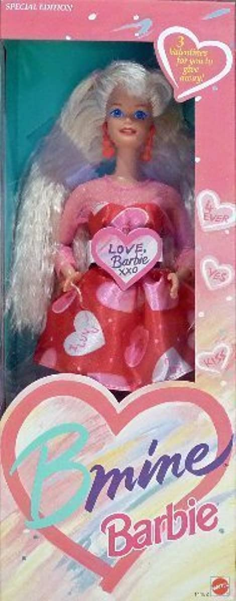 発信物足りないリレーバービー BARBIE BMINE VALENTINE DOLL, SPECIAL EDITION, 1993 EDITION, #11182, NRFB ドール 人形 フィギュア [並行輸入品]
