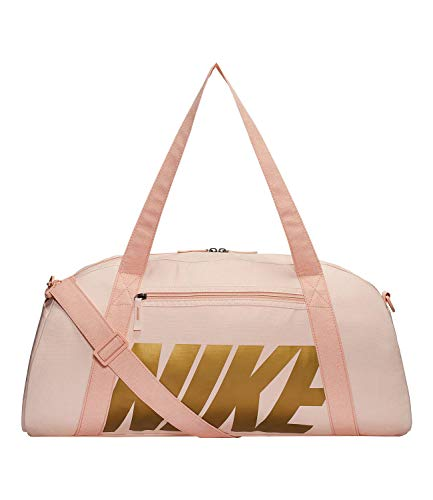 Nike Women's Nike Gym Club Training Duffel Bag Bolsas de Deporte, Mujer, Echo Pink/Coral Stardust/Metallic Gold, Única
