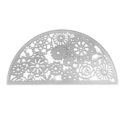 Sinwasd - Plantillas de Metal para Hacer Tarjetas, diseño de Copo de Nieve, para Manualidades, álbumes de Recortes, Tarjetas de Papel