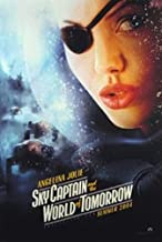 Sky Captain and The World Of Tomorrow Double-Sided Advance Angelina Jolie 27X40 Angelina Jolie Jude Law Gwyneth Paltrow Poster