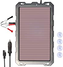 POWOXI 3.3W-Solar-Battery-Trickle-Charger-Maintainer -12V Portable Waterproof Solar Panel Trickle Charging Kit for Car, Automotive, Motorcycle, Boat, Marine, RV, Trailer, Powersports, Snowmobile, etc.