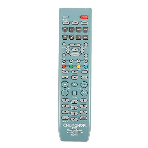 MYAMIA Chunghop E969 8In1 Smart Universal-Fernbedienung Für Tv Sat DVD Cd Aux VCR