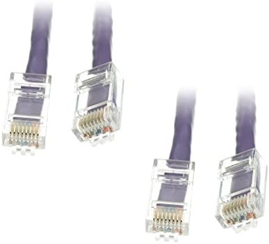 2 Louisville-Jefferson County Mall Pack Cat6 Ethernet Patch Cable 25 Feet CN Max 90% OFF Bootless Purple