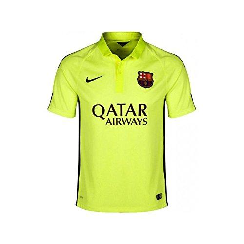 Nike Fútbol Club Barcelona (FCB) 3ª equipación 2014/2015  - Camiseta de fútbol para hombre, color amarillo, talla XL
