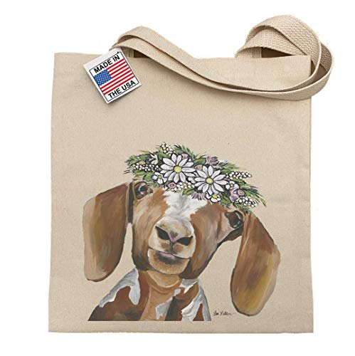 Goat Tote Bag, Millie the Goat, Goat Gifts for Goat Lovers