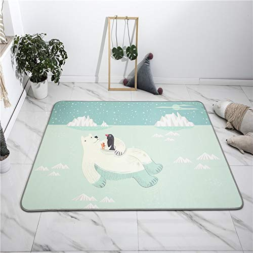 Learn More About Fancy Bear Pattern Cooling Ice Silk Smooth Picnic Mat for Summer Baby Nursery Room ...