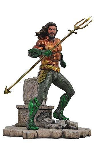 Diamond- DC Movie Gallery Comics Estatua Aquaman, Multicolor (DIAMAUG182575)