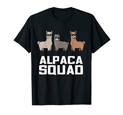 Funny Alpaca T-Shirt für Alpaka Squad Liebhaber