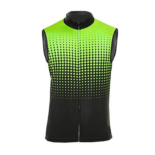 UGLY FROG Herren Rennrad Radtrikot MTB Ärmellose Trikots & Shirts Radweste, Atmungsaktive Cycling Vest Bike Riding Sportjacke, für Männer und Frauen DEHerrenV17