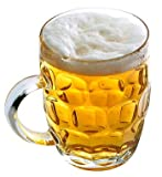 CoK Blumian Deals -Jarras de Cerveza, Pinta Británica- Pack de 4- Jarra de Cerveza, Jarra de...
