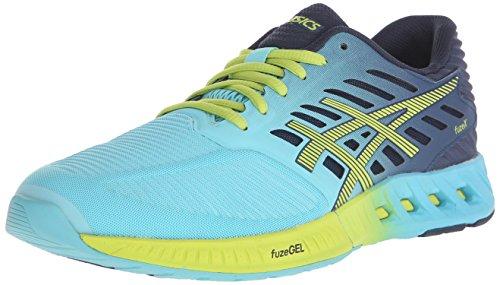 ASICS Women's Fuzex Running Shoe, Turquoise/Sharp Green/Ink, 6 M US