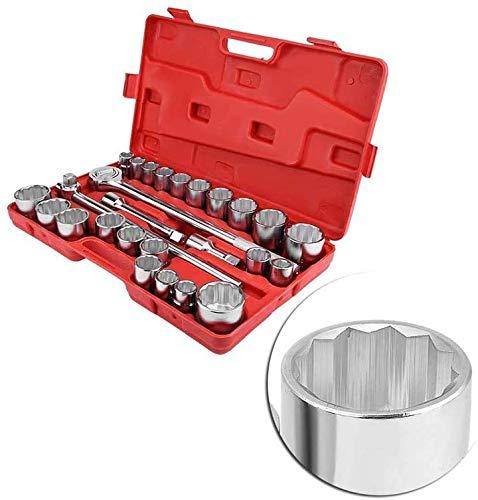 Universal Home 27 stks 3/4 'Standaard Drive Slagmoersleutel Spanner Set Auto Automotive Truck Reparatie Tools Kit In Case Voor Elektriciens, Mechanica