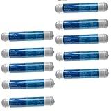 vhbw 10x Filtro de agua, cartucho de filtro compatible con LG...