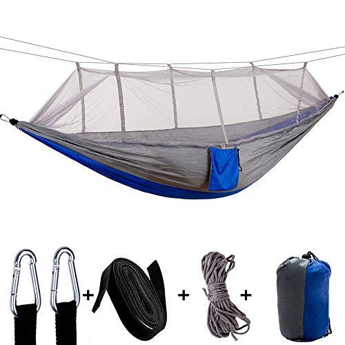Sooair hangmat, voor op reis, camping, hangmat, licht met muggennet, outdoor, ultralichte hangmat, outdoor, ultralicht